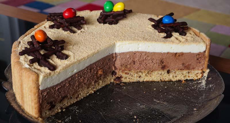 piškotno nutelina torta-09174